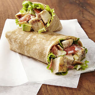 Chicken Club Wraps.