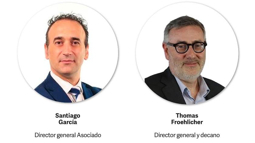 Santiago García y Thomas Froehlicher.