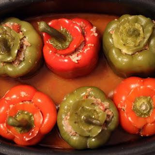 Stuffed Peppers in a Slow Cooker