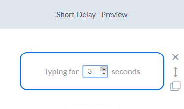 short delay configuration - silfer bots