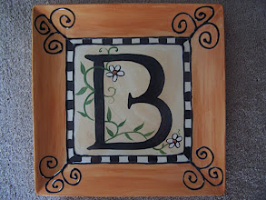 Photo: Monogram Plate