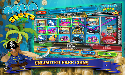 Aqua Slots 2 Treasure Island- screenshot thumbnail