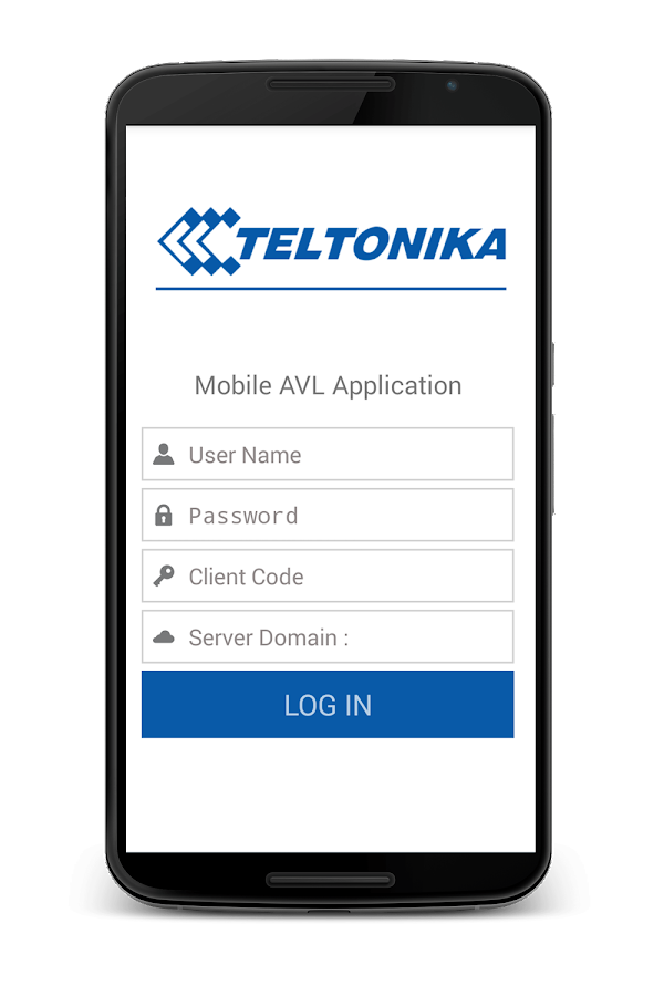 Teltonika Mobile App- screenshot