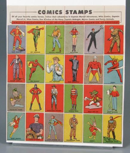 Stamp:Comic Stamps - Fawcett Publications, Inc  — Google