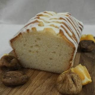 Fig and Honey Yogurt Loaf Cake