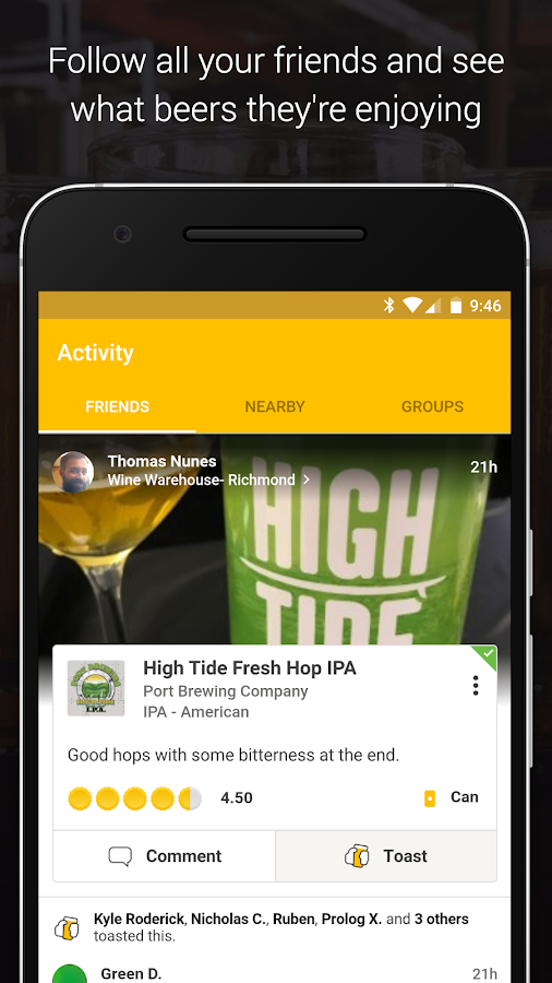 Untappd - Discover Beer – Screenshot