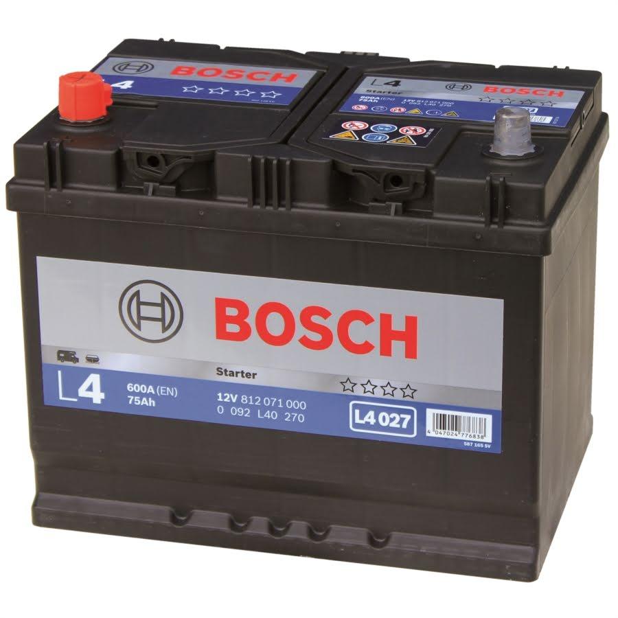 75 Ah Fritidsbatteri Bosch