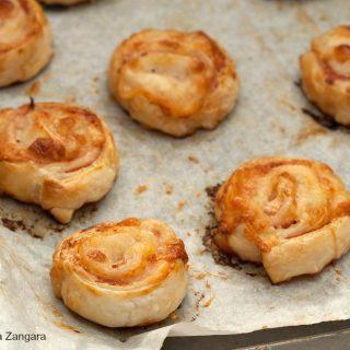 Ham and Stracchino Pinwheels Recipe
