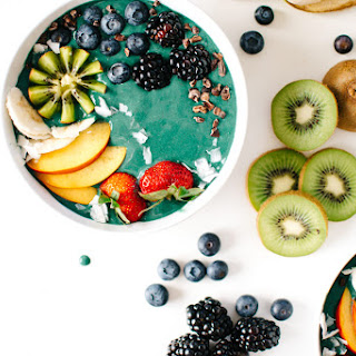 RAINBOW GREEN SMOOTHIE BOWLS..