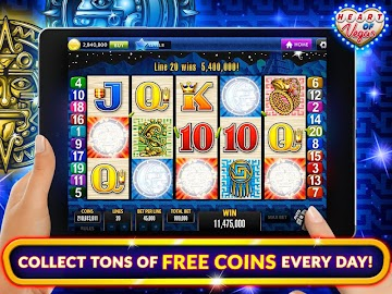 heart of vegas slot games