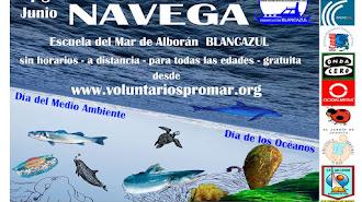 Cartel I Semana del Mar de la Asociación PROMAR.
