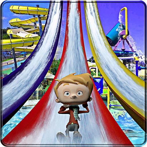 Water Slide Amusement Park: Uphill Rush Adventure