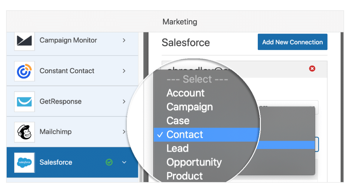 Integrate Salesforce With WPForms