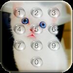 Kitty Pin Lock Screen Droplets Icon