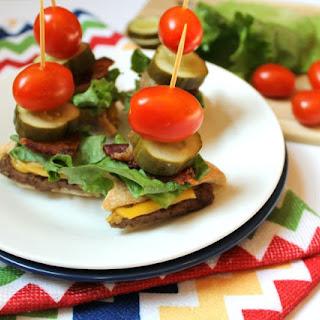 After School Snack Idea - Bacon Cheeseburger Bites Recipe