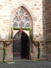 Photo: The entrance in the Church