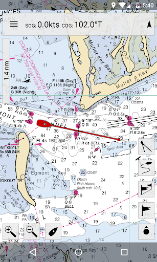MX Mariner - Marine Charts screenshot