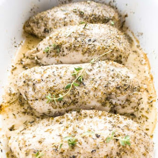 Juicy Baked Chicken Breast - 3 Steps (Paleo, Low Carb).
