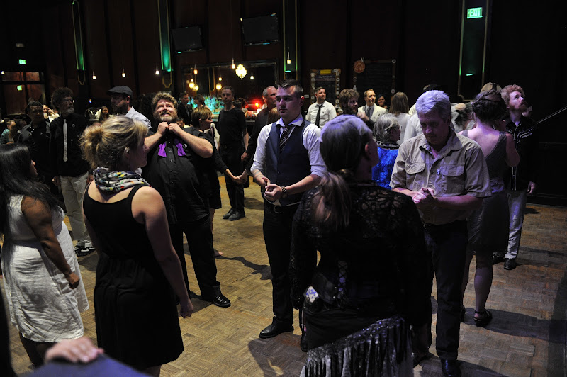 Photo: Contra dance