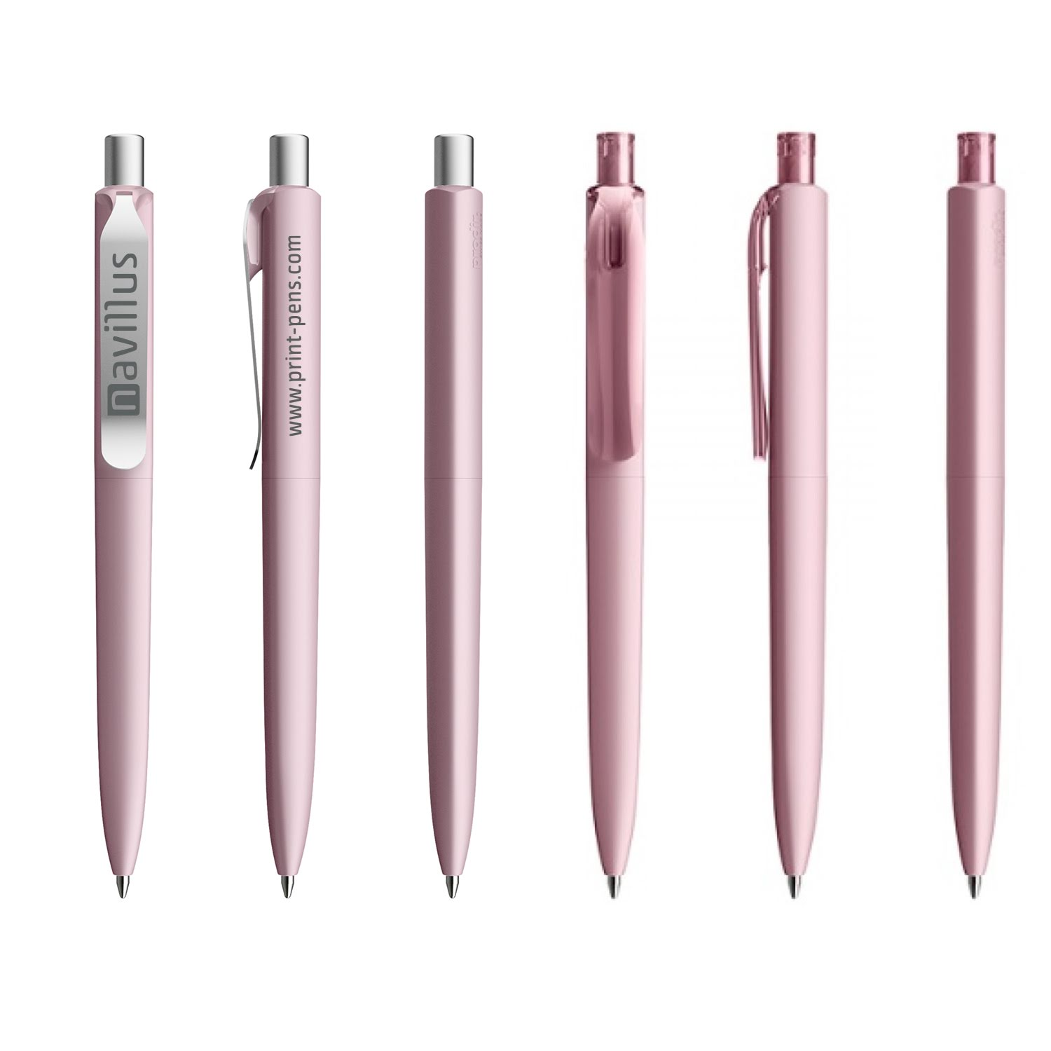 Prodir DS6 Soft Touch Pen Pink