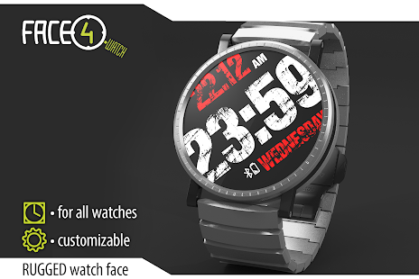 How to download RUGGED Face Watch 1.4.1 mod apk for bluestacks