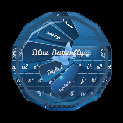 藍蝶 GO Keyboard 個人化 LOGO-玩APPs
