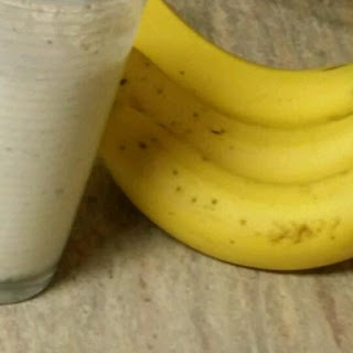 Banana Ice Cream Shake