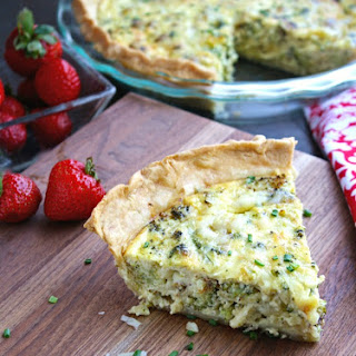 Broccoli Swiss Cheese Quiche Recipes