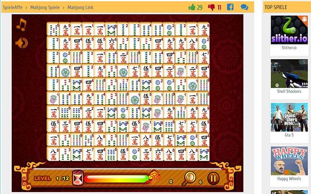 Mahjong Link Kostenlos
