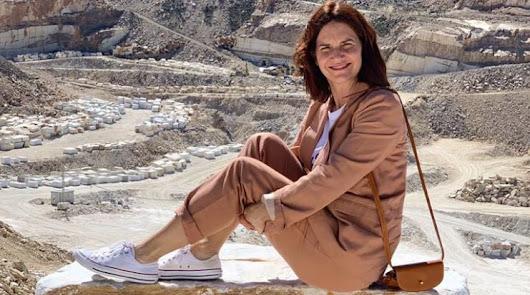 Samantha Vallejo-Nágera descubre los productos típicos del Almanzora