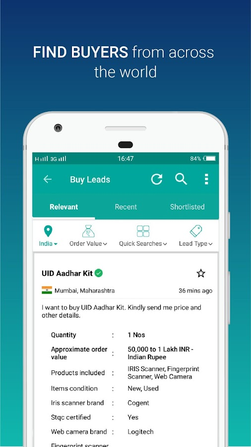 IndiaMART: Search Products, Buy, Sell & Trade- screenshot