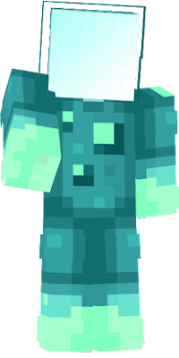 a idea for a skin mixed with the new mob of version 1.17