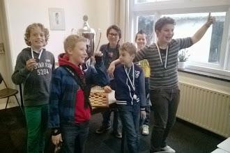 Photo: Jeugdtoernooi Damclub IJmuiden. 16 November 2014
