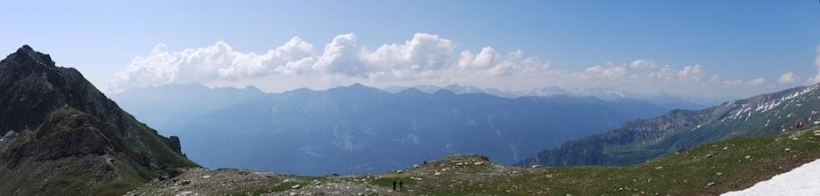 Photo: Vista panoramica dal rifugio.