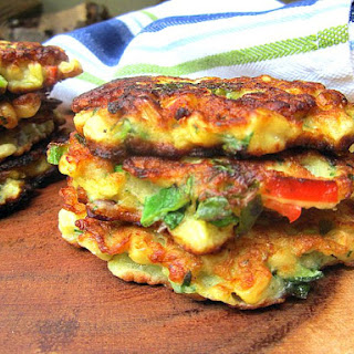 Really Good Corn Fritters.