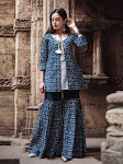 Order Online Sharara Suit for Wedding in India
