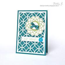 Photo: http://bettys-crafts.blogspot.de/2013/06/zur-geburt.html