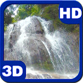 Lost Waterfall Cascade 3D