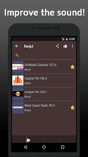 Radio Online Gambia - náhled