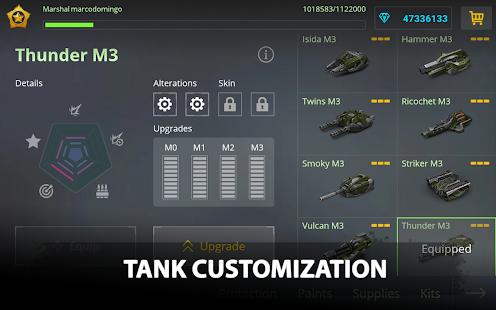 Game Tanki Online - PvP shooter APK for Windows Phone