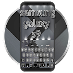 Silver Shine Keyboard For Galaxy S9