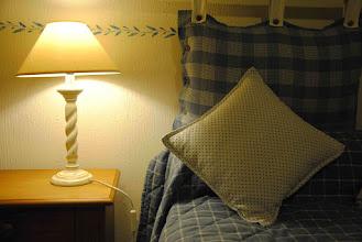 Photo: enduit maison, déco au pochoir...