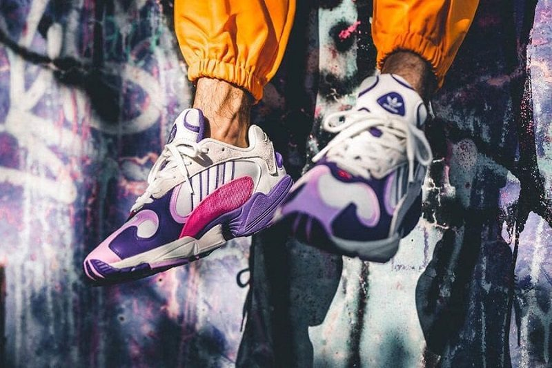 Giày Dragon Ball Z x Adidas Yung 1 Frieza