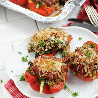 Italian Stuffed Peppers With Breadcrumbs Recipes.