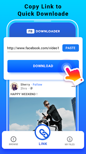 Video Downloader for Facebook - FB HD Video Saver  screenshots 6