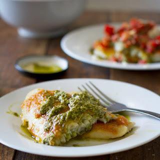 Parmesan Pesto Tilapia