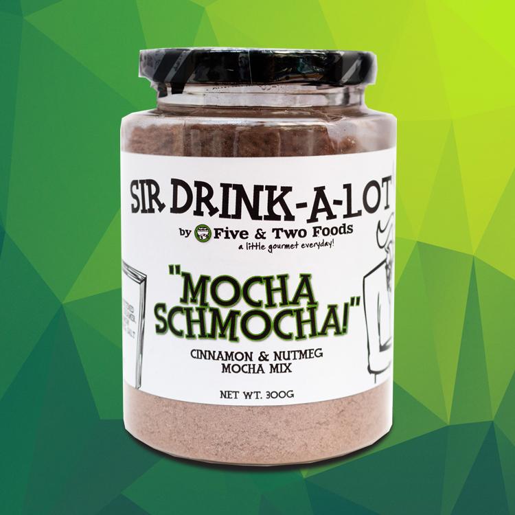 Sir Drink-A-Lot's 'Mocha Schmocha' Mocha Mix by Five & Two Fine Foods