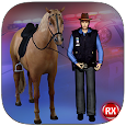 Police Horse Chase: Crime City