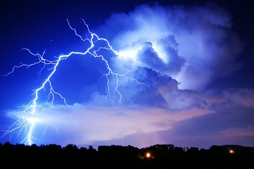 Lightning Storm by Kevin Sullivan - Landscapes Weather ( clouds, lightning, thunderstorm, weather, huntsville, alabama, storm )
