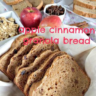 Apple Cinnamon Granola Bread.